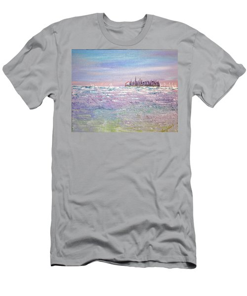 Serenity Sky - Sold Men's T-Shirt (Athletic Fit)