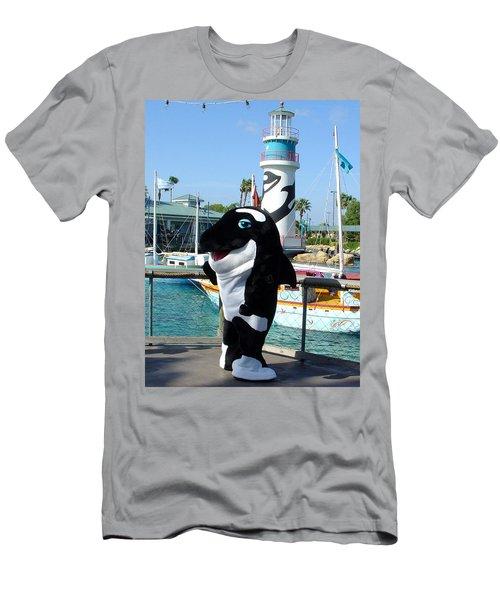 Shamu Men's T-Shirt (Athletic Fit)