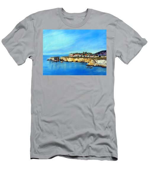 Shell Beach California Men's T-Shirt (Athletic Fit)