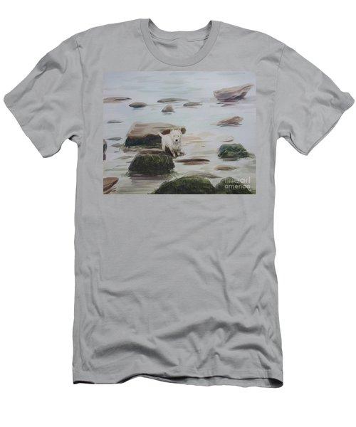 Shirley's Dog Men's T-Shirt (Slim Fit) by Martin Howard