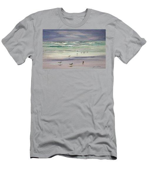 Shoreline Birds IIi Men's T-Shirt (Athletic Fit)