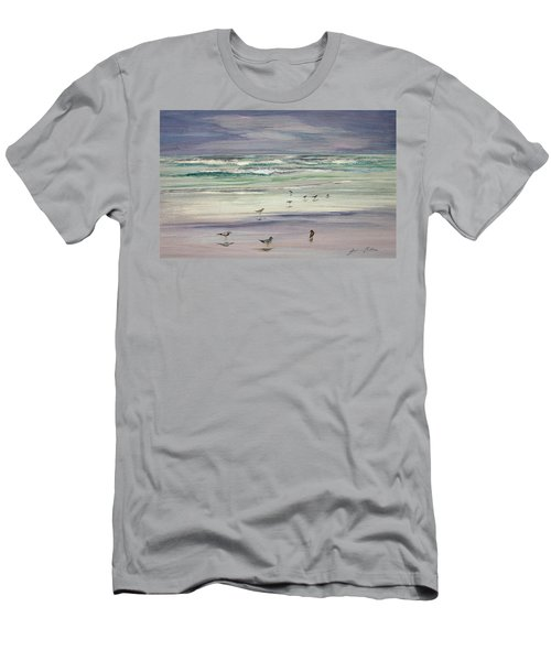 Shoreline Birds IIi Men's T-Shirt (Athletic Fit)