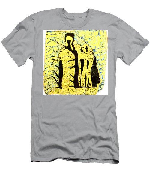 Shroud Of Jesus Men's T-Shirt (Athletic Fit)
