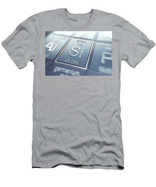 Silicon Chemical Element Men's T-Shirt (Athletic Fit)