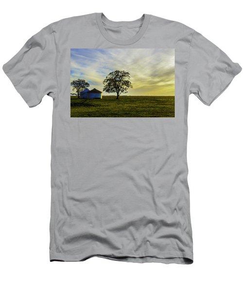 Silos At Sunset Men's T-Shirt (Athletic Fit)
