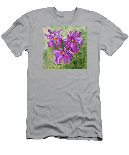 Simple Flowers Men's T-Shirt (Athletic Fit)