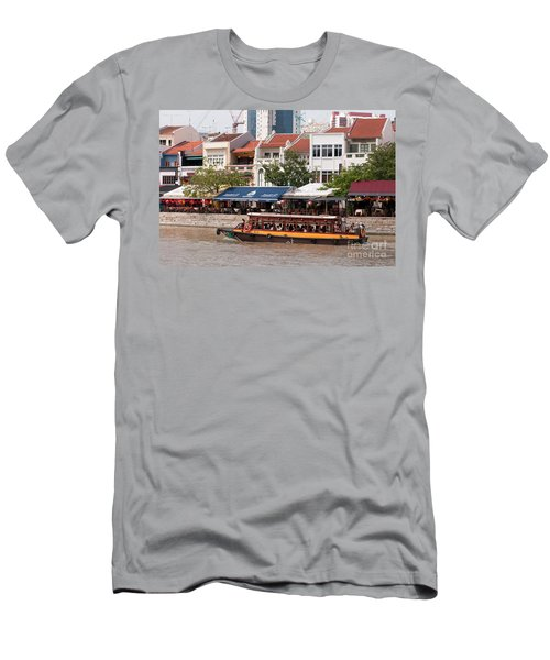 Singapore Boat Quay 04 Men's T-Shirt (Athletic Fit)