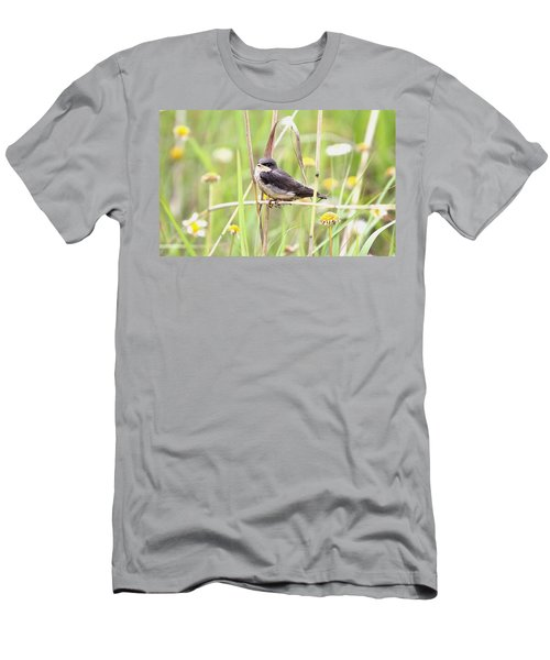 Men's T-Shirt (Slim Fit) featuring the photograph Sitin' Pretty by Elizabeth Winter