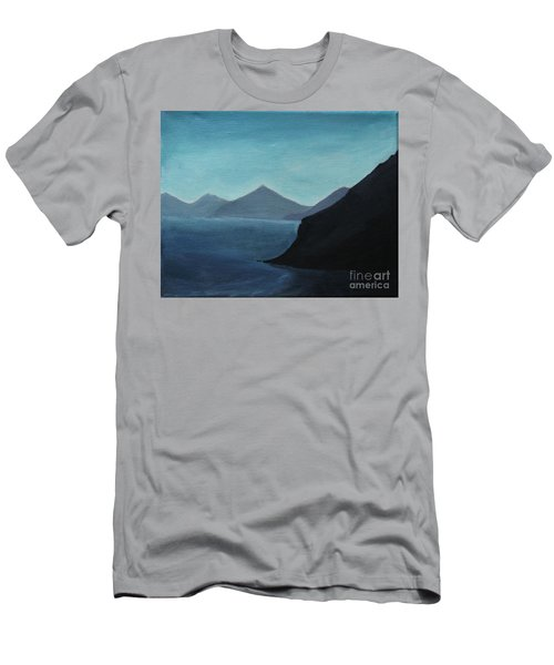 Skopelos Greece Men's T-Shirt (Athletic Fit)