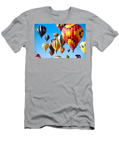 Sky Of Color Men's T-Shirt (Athletic Fit)