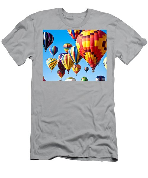 Sky Of Color Men's T-Shirt (Athletic Fit)