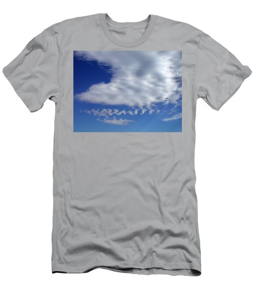Sleepy Clouds Men's T-Shirt (Athletic Fit)