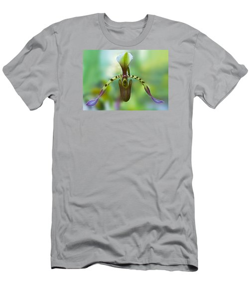 Slipper Orchid Of Selby Gardens Men's T-Shirt (Athletic Fit)