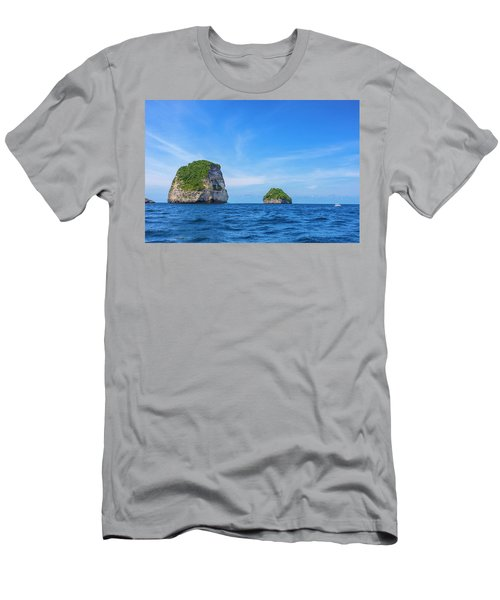 Small Stone Island Near Nusa Penida Men's T-Shirt (Athletic Fit)