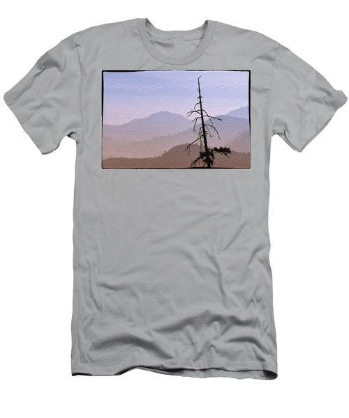 Snag On The Hill Men's T-Shirt (Athletic Fit)