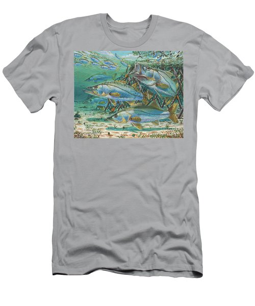 Snook Attack In0014 Men's T-Shirt (Athletic Fit)