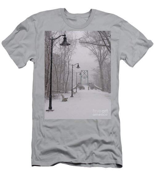 Snow At Bulls Island - 05 Men's T-Shirt (Athletic Fit)