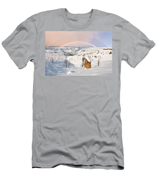 Snow Capped Hoodoo's Men's T-Shirt (Athletic Fit)