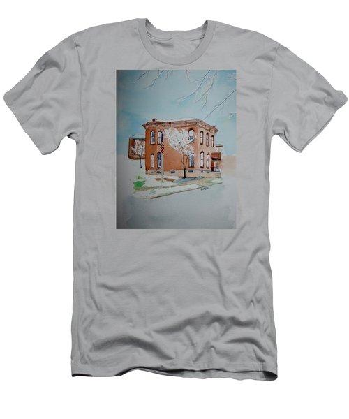 Snow In St. C 2 Men's T-Shirt (Athletic Fit)