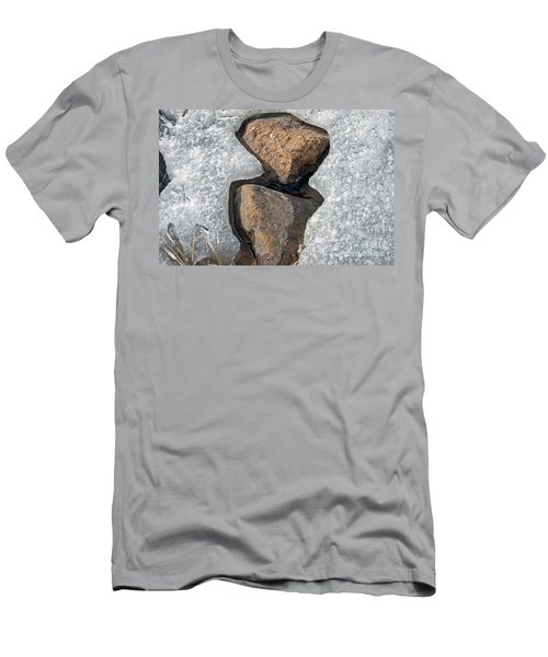 Snow Melt 2 Men's T-Shirt (Athletic Fit)
