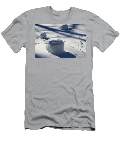 Snow Roller Trio In Shadows Men's T-Shirt (Athletic Fit)