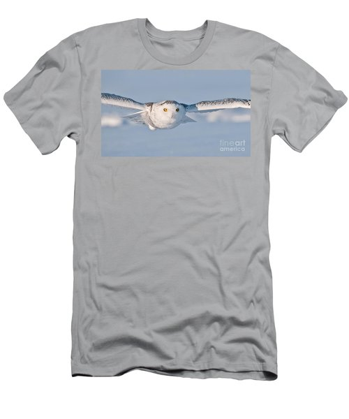Snowy Owl Pictures 10 Men's T-Shirt (Athletic Fit)