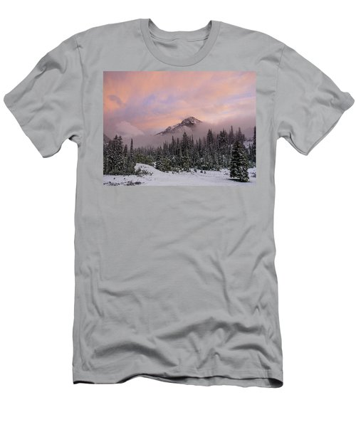 Snowy Surprise Men's T-Shirt (Athletic Fit)