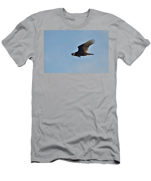 Men's T-Shirt (Slim Fit) featuring the photograph Soaring by David Porteus