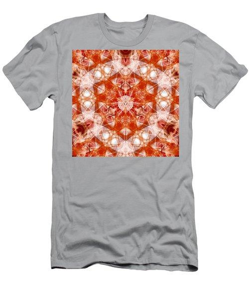 Men's T-Shirt (Athletic Fit) featuring the digital art Solar Hypercube by Derek Gedney