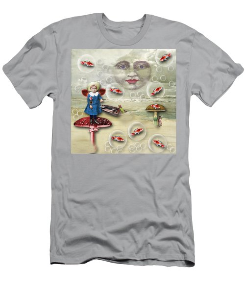 Something Fishy At The Shore Men's T-Shirt (Athletic Fit)