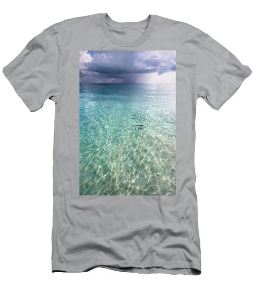 Somewhere Is Rainy. Maldives Men's T-Shirt (Athletic Fit)