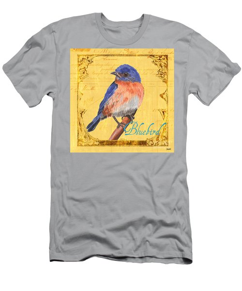 Colorful Songbirds 1 Men's T-Shirt (Athletic Fit)