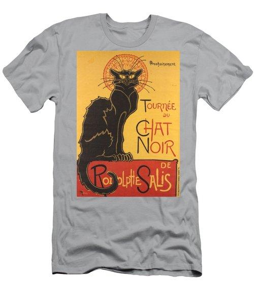 Soon The Black Cat Tour By Rodolphe Salis  Men's T-Shirt (Athletic Fit)