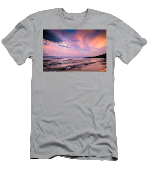 South Beach Clouds Men's T-Shirt (Athletic Fit)