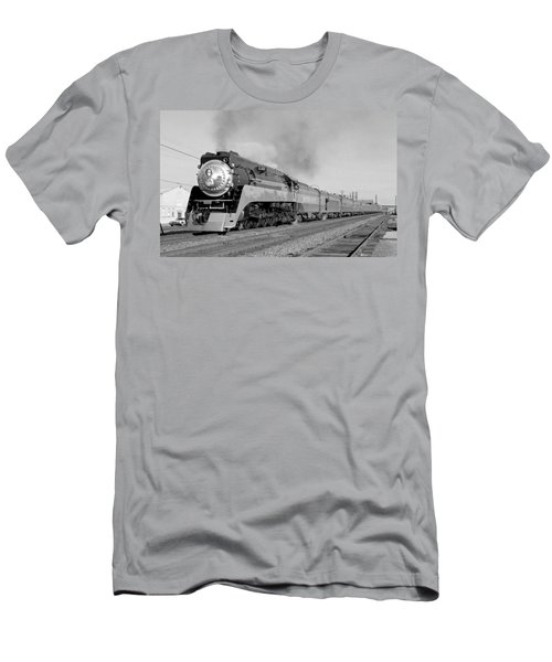 Southern Pacific Train In Texas Men's T-Shirt (Athletic Fit)
