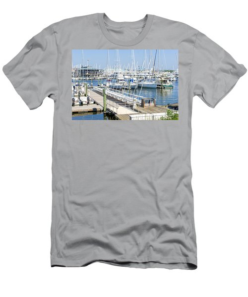 Spa At 6th Street Men's T-Shirt (Athletic Fit)
