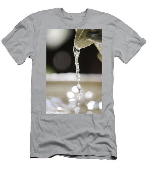 Men's T-Shirt (Slim Fit) featuring the photograph Sparkle by Leticia Latocki