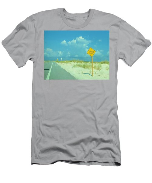 Speed Hump Men's T-Shirt (Athletic Fit)