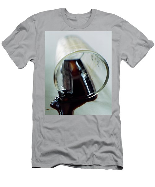 Spilled Balsamic Vinegar Men's T-Shirt (Athletic Fit)