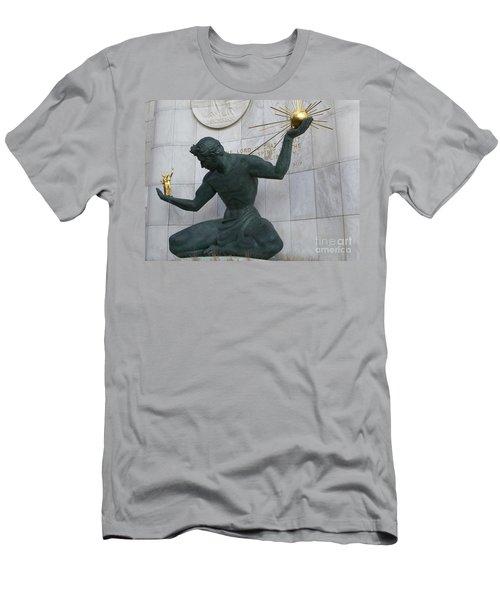 Spirit Of Detroit Men's T-Shirt (Athletic Fit)