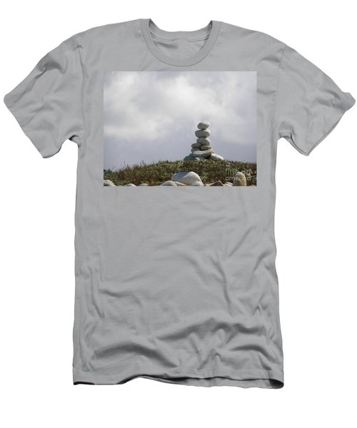 Spiritual Rock Sculpture Men's T-Shirt (Athletic Fit)