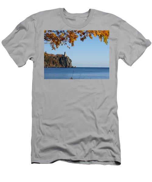 Split Rock Leaves Men's T-Shirt (Athletic Fit)