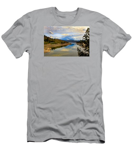 Spokane River Men's T-Shirt (Athletic Fit)