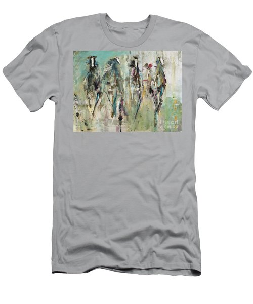 Spooked Men's T-Shirt (Slim Fit) by Frances Marino