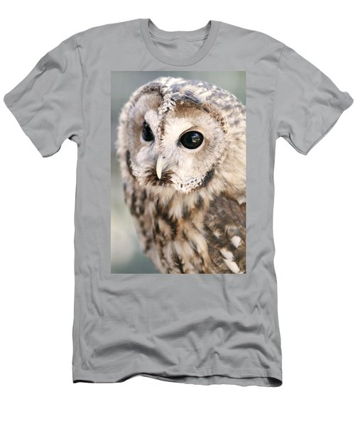 Men's T-Shirt (Slim Fit) featuring the photograph Spotted Owl by Shoal Hollingsworth
