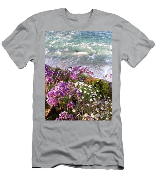 Spring Greets Waves Men's T-Shirt (Slim Fit) by Susan Garren