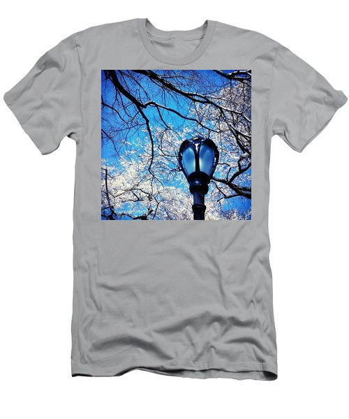 Spring In Central Park New York Men's T-Shirt (Athletic Fit)