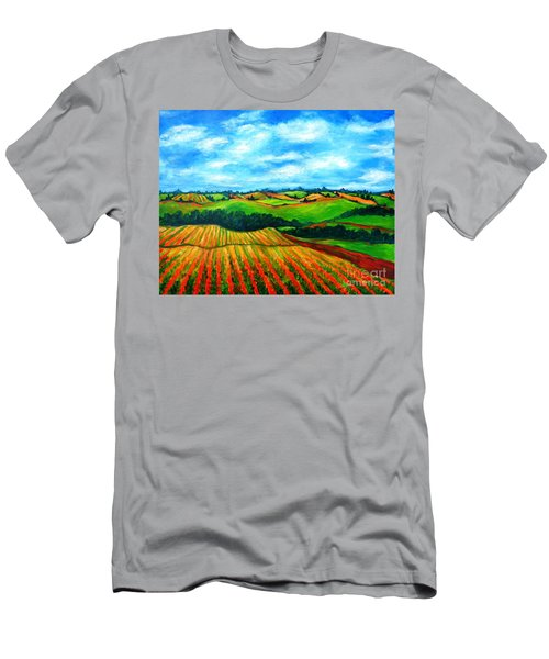 Spring In Prince Edward Island Men's T-Shirt (Athletic Fit)