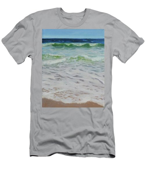 Spring Wave Men's T-Shirt (Slim Fit)