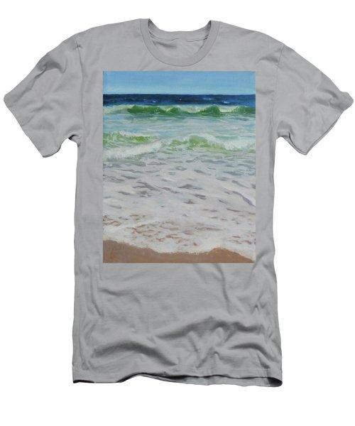 Spring Wave Men's T-Shirt (Athletic Fit)